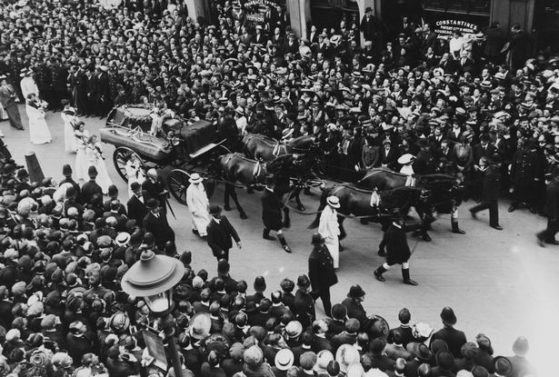FILE-100-Years-Since-The-Death-Of-Suffragette-Emily-Davison-At-Epsom-Davison-Funeral
